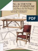 Making Authentic Craftsman Furniture