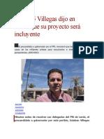15.12.15 Villegas dijo en Lerdo que su proyecto será incluyente