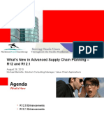 Whats New in Advanced Planning R12