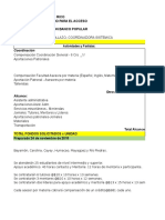 Presupuesto CUA UPR