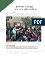 17.12.15 Esteban Villegas Tiene Como Zona Prioritaria La Comarca