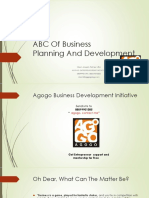 ABC of Business Planning and Development