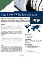 Case Study - Hi Torque Telescopic WH VR Lubricator