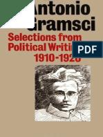 Gramsci - Selected Writings 1910-1920