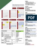 Calendario Academico 2015.2