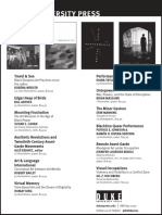 Duke University Press Program Ad for the 2016 Annual Meeting of the College Art Association