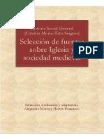 Selección Fuentes Iglesia y Sociedad Medieval 2015