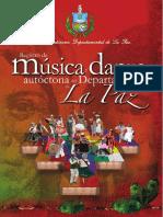 Registro de Música y Danza Autóctona de La Paz (2da Rev. Complementaria)
