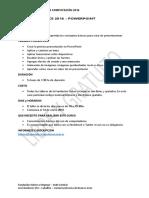 Taller Office - Temario Powerpoint