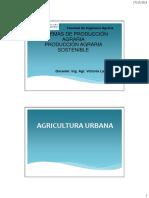 Clase Agricultura Urbana