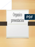 Organico presentacion