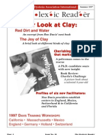 The Dyslexic Reader 1997 - Issue 10