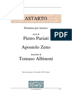 Albinoni - Astarto