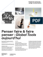Global Tools - Beaux Arts Toulouse - 2013