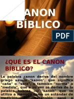 Canon Biblico II