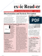 The Dyslexic Reader 2001 - Issue 26