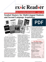 The Dyslexic Reader 2002 - Issue 27