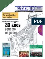 """Periscopio edición Nº 240 (20 años) """"Desde el centro geográfico de Montevideo"""""""
