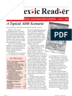 The Dyslexic Reader 2004 - Issue 34