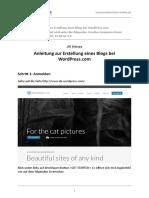 WordPress Anleitung 02