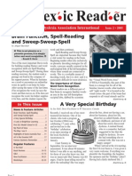 The Dyslexic Reader 2005 - Issue 39