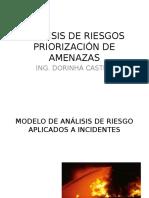 Análisis de Riesgos Pr iorización de Amenazas