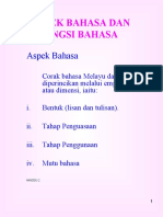 BAHASA MALAYSIA KERTAS 1 TINGKATAN 6
