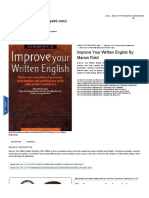 Improve Your Written English by Marion Field _ the CSS Point