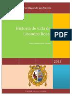 Historia de Vida de Lisandro Rossi