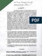Acuerdo 004 de 2013