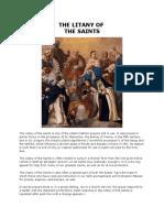 The Litany of Saints