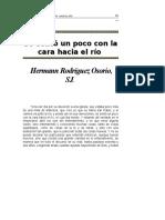 Se Sento Un Poco Con La Cara Hacia El Rio (Hernan Rodriguez O.)