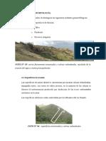 Geología Estructural Pampa Culebra