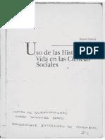 Uso de las historias de vida en ciencias sociales