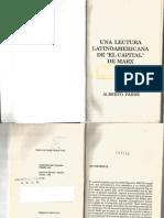 Una Lectura Latinoamericana de El Capital de Marx- Alberto Parisi