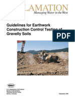 Guidelines For Earthwork Construction Control Testing of Gravelly Soils