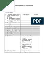 Format Penyusunan Makalah Analisis Jurnal