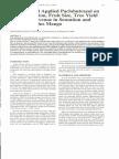 Effect of Soil Applied Paclobutrazol