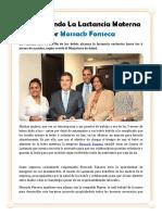 Promoviendo La Lactancia Materna por Mossack Fonseca