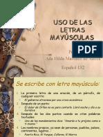 USO DE LAS LETRAS MAYÚSCULAS.ppt