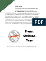 Present Continuous Tense.docx