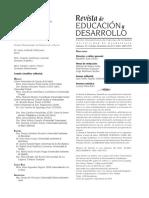 Revista De Ed y Desarrollo