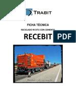 Ficha Técnica Reciclado in Situ Con Cemento
