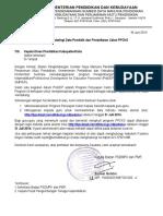 Surat Updating Data Pendidik Dan Pendaftaran PPCKS