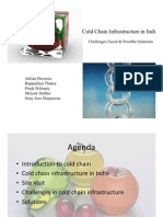 Cold Chain Infra in India