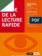 Le Guide de La Lecture Rapide - Pierre Gévart