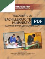REGLAMENTO BACHILLERATO T-H