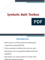 Symbolic Math