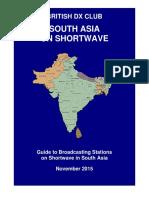 South Asia on Shortwave - Nov 2015