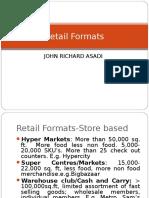 1Retail Formats